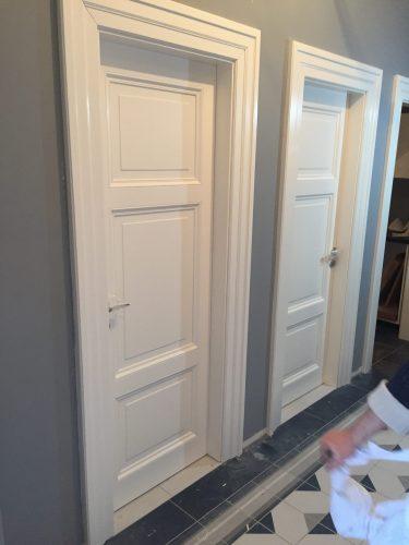 Interiérové dveře. Replika původních. Praha 1.